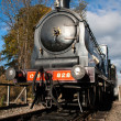 Stock Photo: Caley 828 steam locomotive