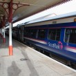 Scotrail train in Aviemore Station — Stock Photo