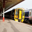 Two Scotrail trains in Aviemore Station — Stock Photo #14164482