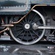 Steam locomotive details — Stock Photo
