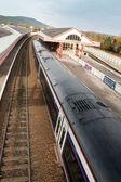 Scotrail train in Aviemore Station — Stock Photo
