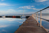 Tranquil Harbour — Stock Photo
