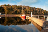 Avoch Harbour in late afternoon — Stock Photo
