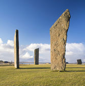 Standing Stones of Stenness — Stock Photo