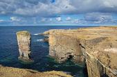 Yesnaby deniz yığını — Stok fotoğraf