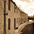 Quaint Orkney lane — Stock Photo