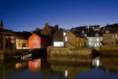Stromness by night — Stock Photo