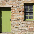 Traditional Scottish architectural details — Stock Photo