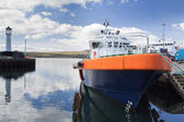 Kirkwall harbour — Stock Photo