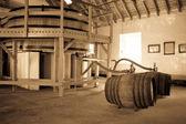 Filling whisky casks — Stock Photo
