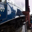 Sir Nigel Gresley steam locomotive — Stock Photo