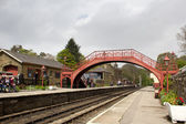 Goathland railway station — Stock Photo