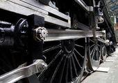 Detalhes de trem de vapor — Foto Stock