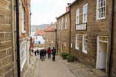 Robin Hoods Bay street — Stock Photo