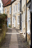 Narrow English Lane — Stock Photo
