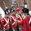Redcoat soldiers — Stock Photo #30525387