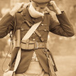 Stock Photo: World War 1 Soldier