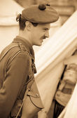 World War 1 Soldier — Stock Photo