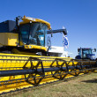 Stock Photo: New Holland Combine harvester
