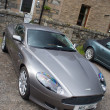Постер, плакат: Aston Martin DB9 luxury sports car