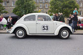 Love bug vw beetle vista laterale — Foto Stock