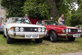 Classic Triumph Stag cars — Stock Photo