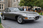 Jaguar E type — Stockfoto