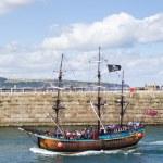 wycieczki statkiem turystycznym Whitby — Zdjęcie stockowe