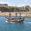 Stock Photo: Whitby tourist boat tour
