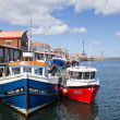 Stock Photo: Whitby fishing boats