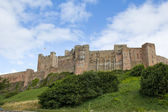 Bamburgh castle — Stock Photo