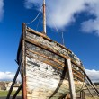 Old wooden boat — Stock Photo #42889601