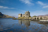 Eilean Donan Castle and Loch Duich — Stock Photo