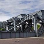 Scherzer rolling lift bridge, Dublin, Ireland — Stock Photo #51537475