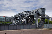 Scherzer rolling lift bridge, Dublin, Ireland — Stock Photo