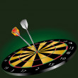 Stock Vector: Darts game