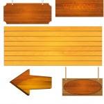 Wooden — Stock Vector