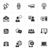 Communication Icons-Set 2 — 图库矢量图片