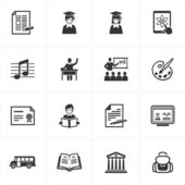 School and Education Icons-Set 2 — Stock Vector