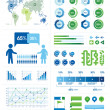 Infographic Elements 01 — Vettoriale Stock #27726499