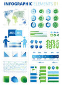 Infographic Elements 01 — Vector de stock