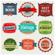 Vintage Labels — Vettoriali Stock