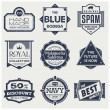 Monochrome Vintage Labels — Stock Vector #28001601