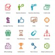 Business Icons Set 2 - Colored Series — Stock Vector #29575965