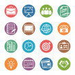 Business and Office Icons - Dot Series — Stockvector #33242713