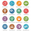 SEO & Internet Marketing Icons Set 4 - Long Shadow Series — 图库矢量图片 #36797497