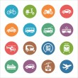Transportation Icons - Dot Series — Stock Vector #38536719