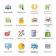 SEO & Internet Marketing Flat Icons - Set 3 — стоковый вектор #39214911