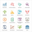 Personal & Business Finance Icons - Set 1 — Stock Vector