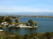 San Roque lake, Villa Carlos Paz, Cordoba, Argentina — Stock Photo